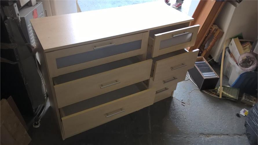 Beech Look Drawer Unit 260916