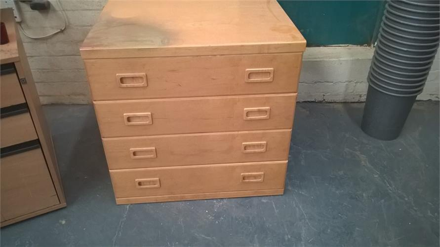 Chest of Drawers Spray Damage 300916