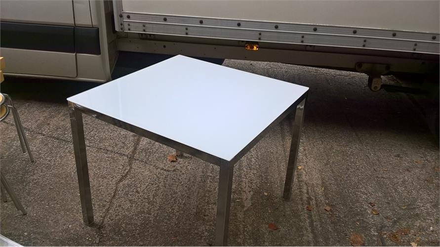 Glass top table 131016