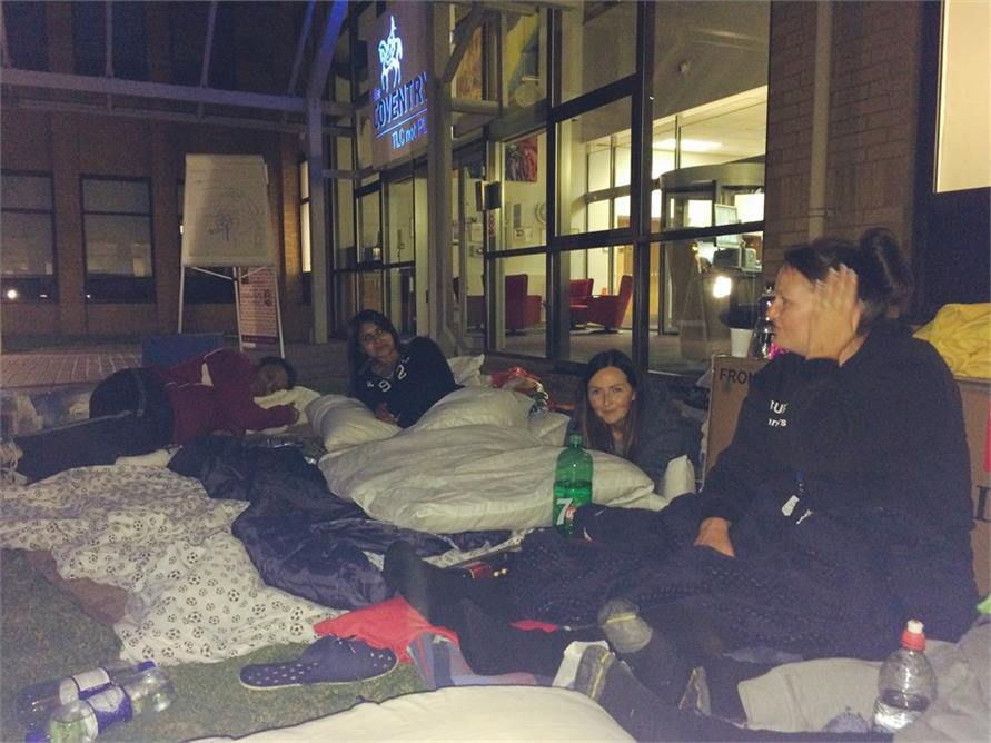 Sleep out picture 6