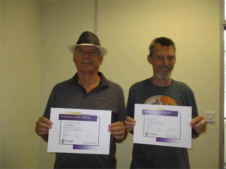 Vols of the month June 2019