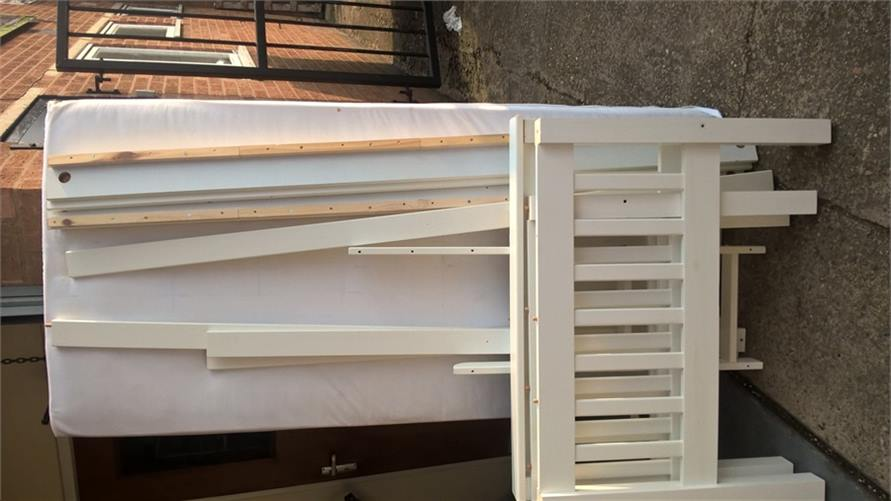 White Bunk Beds 150916
